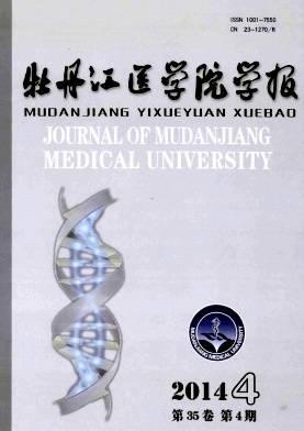 牡丹江医学院学报杂志杂志封面