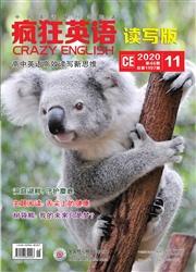 疯狂英语·读写版杂志杂志封面